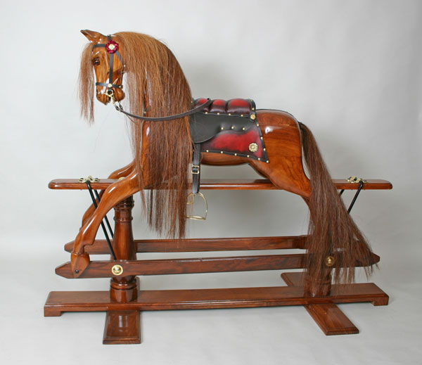 Wooden Rocking Horse ~ Yorkshire rocking horse restoration