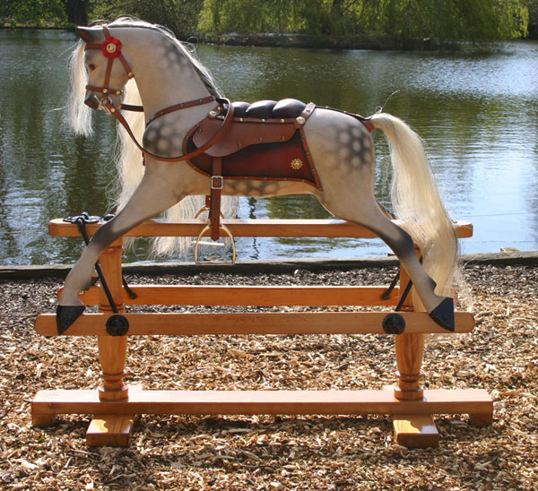 how to restore a rocking horse